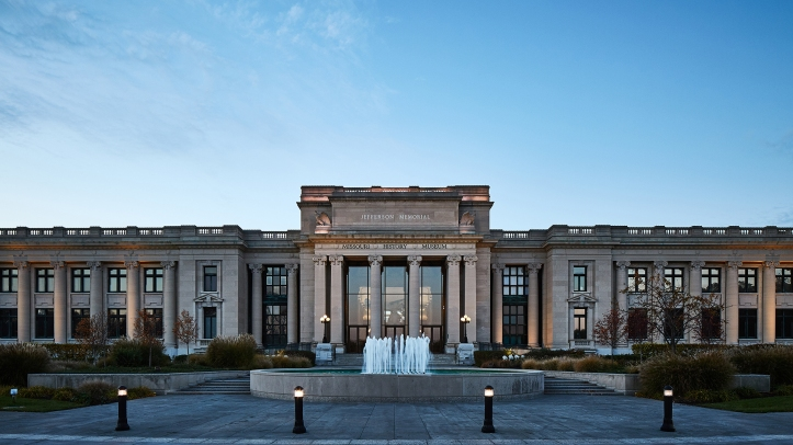 Exterior of the Missouri History Museum